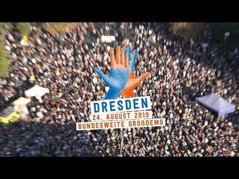 #unteilbar Großdemonstration 24.08.2019 | Dresden | unteilbar.org | Solidarität statt Ausgrenzung!