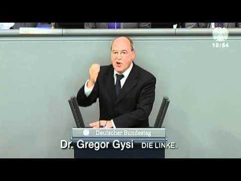Gregor Gysi, DIE LINKE: Wir brauchen eine attraktivere Demokratie