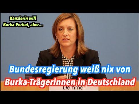 """""""Burka-Verbot"""": Gibt es überhaupt Burka-Trägerinnen in Deutschland? Ääähm..."""
