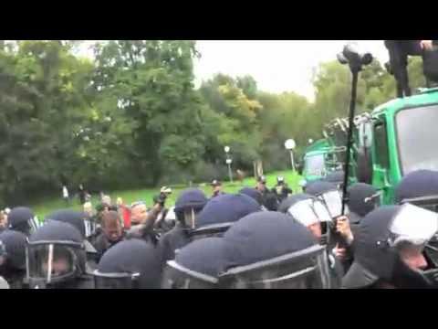 Brutale Schlossgarten Räumung Stuttgart 21 Angriff auf Schüler