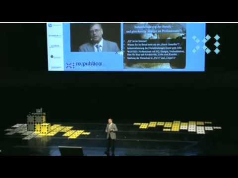 re:publica 2011 Gunter Dueck - Das internet als Gesellschaftsbetriebssystem