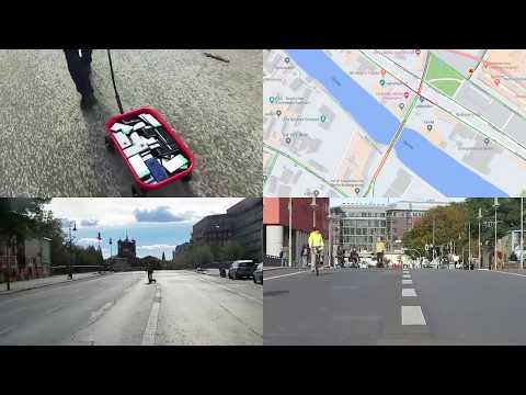 Google Maps Hacks | Google Maps Traffic Jam by Simon Weckert