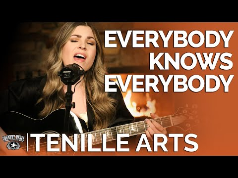 Tenille Arts - Everybody Knows Everybody (Acoustic) // Fireside Sessions