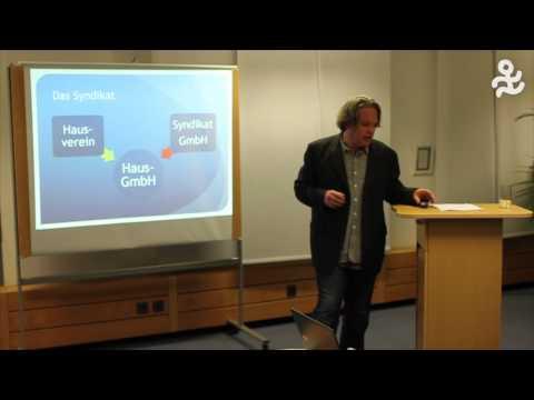 Axel Burkhardt: Gemeinsam wohnen, vernetzt finanzieren. Das Konzept Mietshäuser-Syndikat