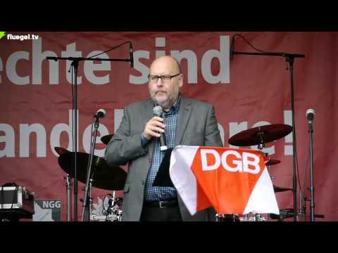 TTIP, CETA, TiSA stoppen! DGB-Kundgebung, Auftaktrede, Stuttgart, 11.10.2014