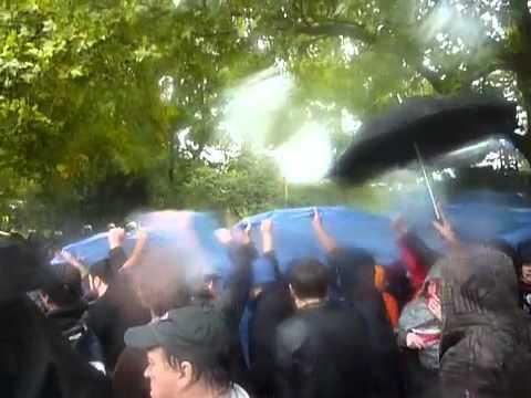 Stuttgart 21 Polizeigewalt Wasserwerfer - Demonstration im Stadtpark 30.09.10