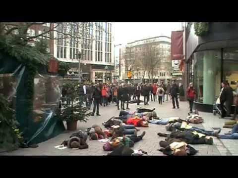 Stör Fall Mob in Hamburg