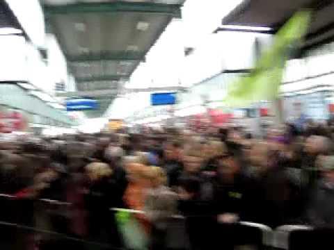 Bürgerprotest gegen den Baustart von Stuttgart 21
