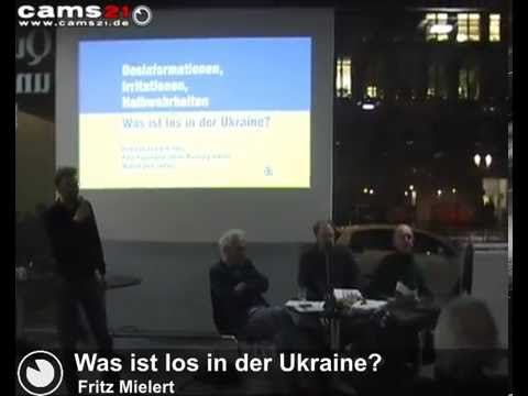 Podiumsdiskussion: Was ist los in der Ukraine 24.03.2014