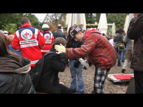 Stuttgart 21 - Horror im Schlossgarten - Parkschützer Vol.1 - Opfer staatlicher Gewalt S21