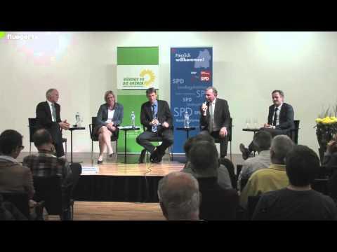 Wie kommte die Energiewende wieder in Schwung? Fachgespräch, Stuttgart, 07.11.2013: Podium