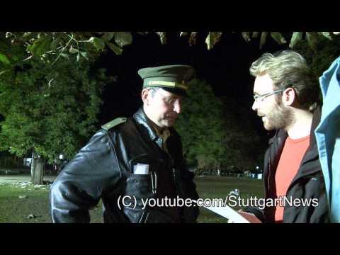 Stuttgart 21: Parkschützer erstatten Strafanzeige gegen Deutsche Bahn Projektbau