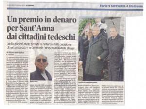 2013-06-23-Il-Tirreno---Un-premio-in-denaro-per-Sant'Anna-dai-cittadini-tedeschi