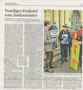 2014-09-19-StZ-Voreiliger Freibrief vom Justizministerium