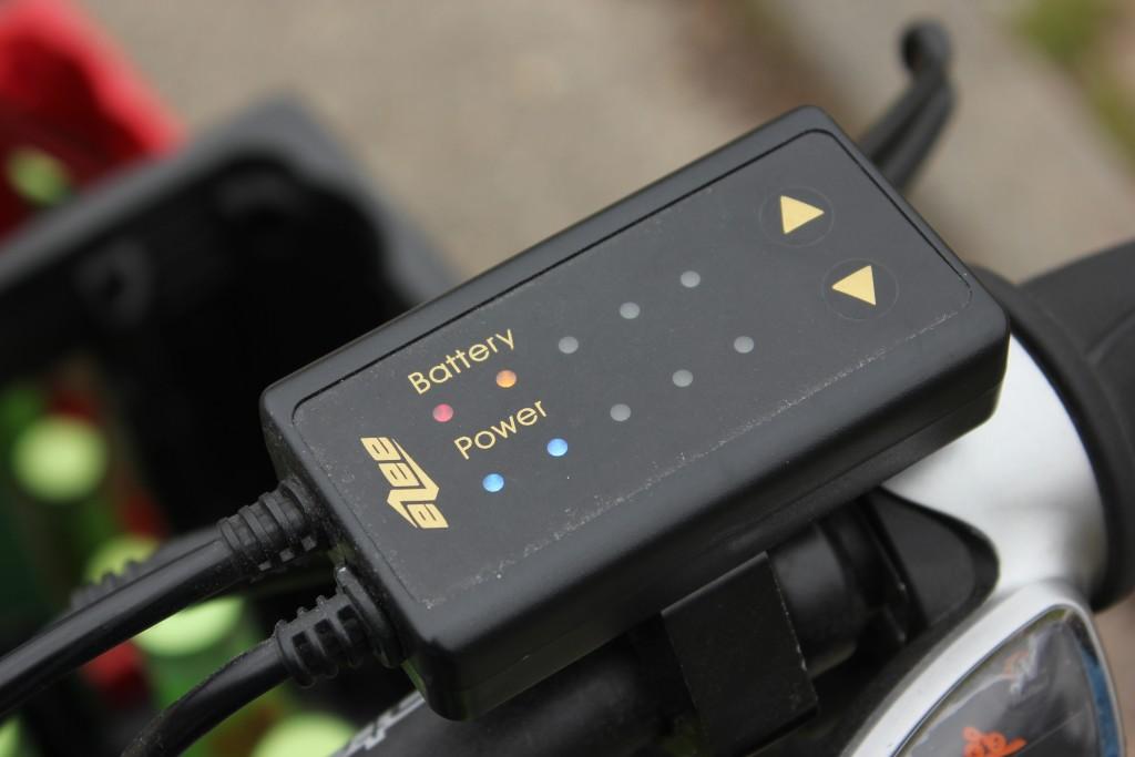 Batterieanzeige des Rapid